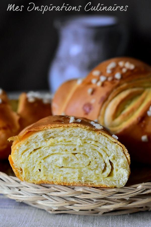 Baguette tourbillon briochée