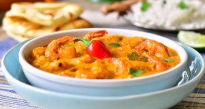 crevettes au curry indien 1