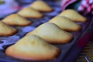 cuire les madeleines 1