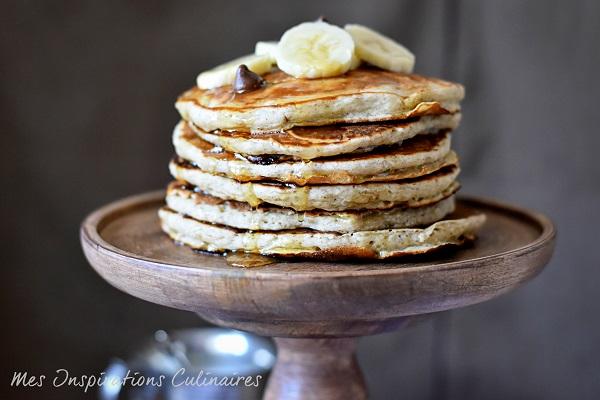 Recette pancakes à la banane