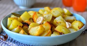 pomme de terre roties au four aux oignons rouges 1