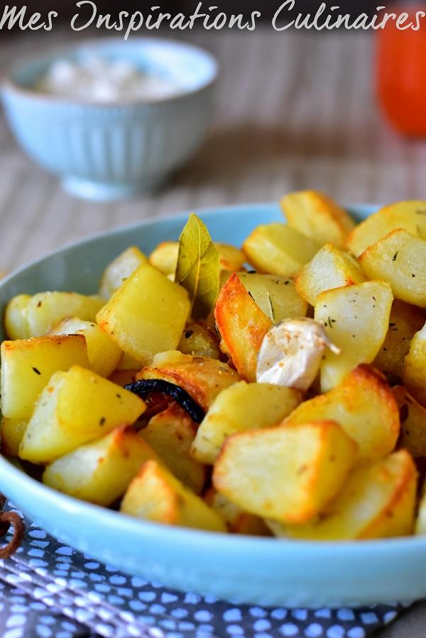 Pommes de terre au four au romarin
