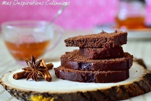Recette pain d'épices au chocolat