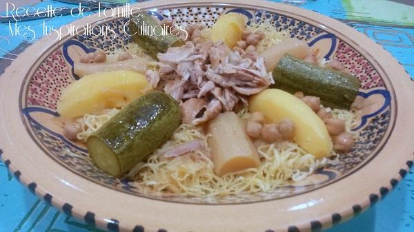 rechta au poulet (sauce blanche), cuisine algérienne | le blog