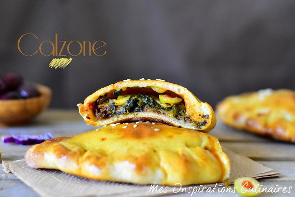 Recette Calzone, pizza calzone