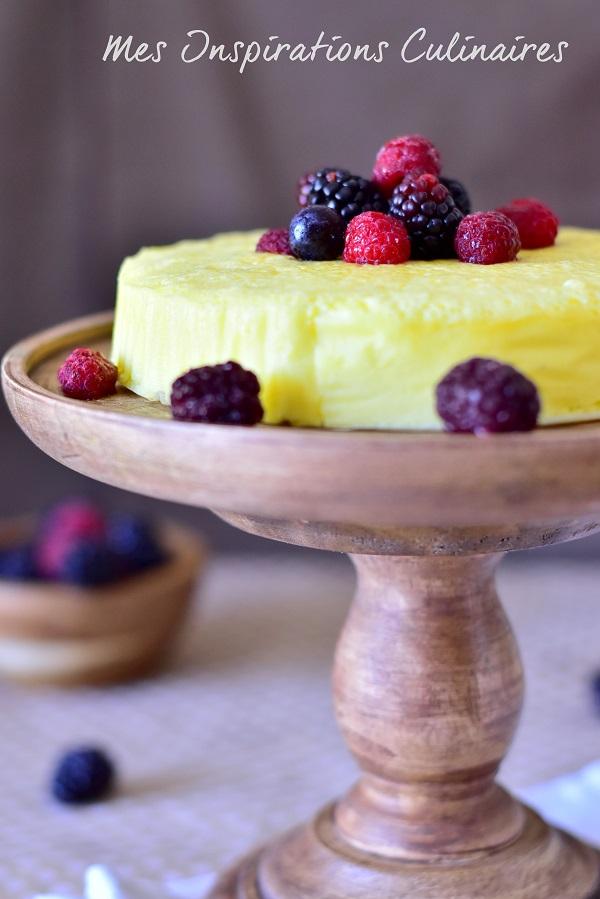 Cheesecake japonais (gâteau soufflé aux 3 ingrédients)