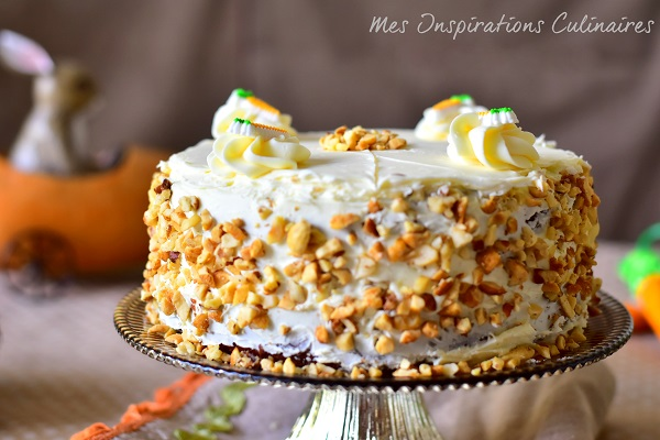 Recette Carrot Cake Gateau Aux Carottes Le Blog Cuisine De Samar