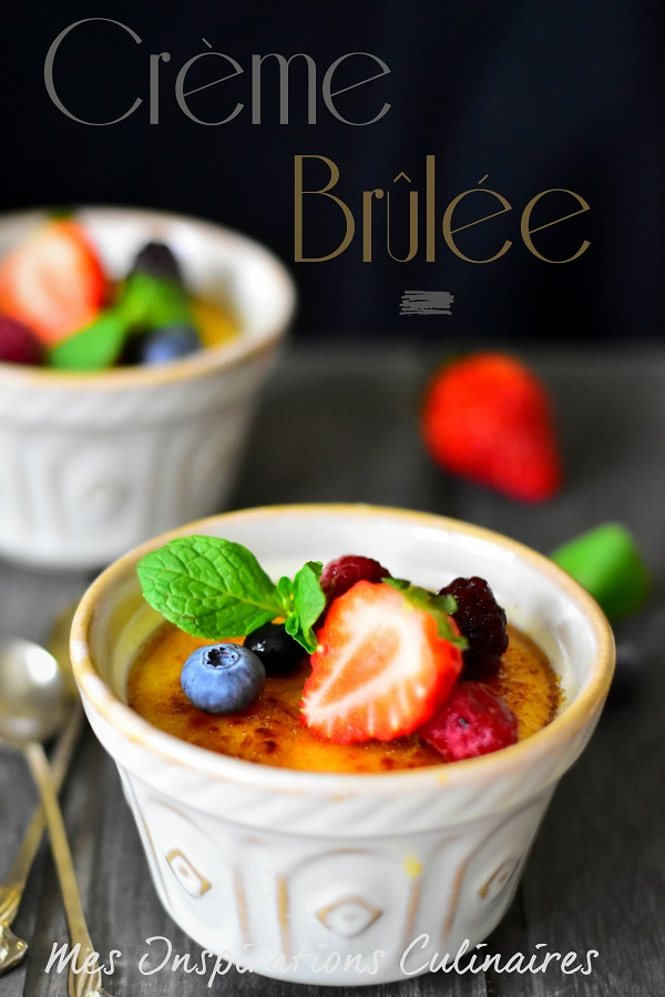 Recette crème brûlée (Paul Bocuse)