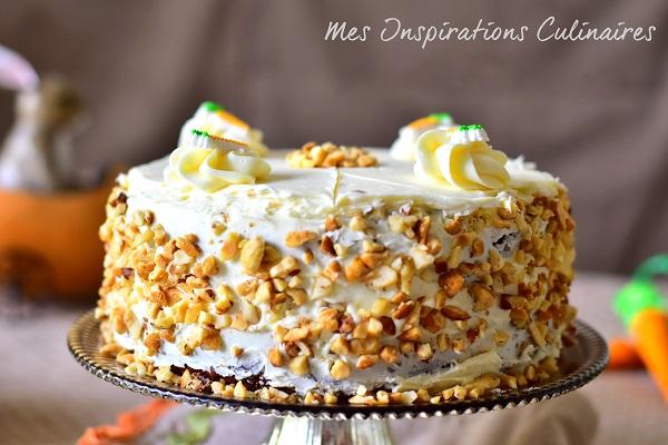 Recette Carrot cake (gâteau aux carottes)