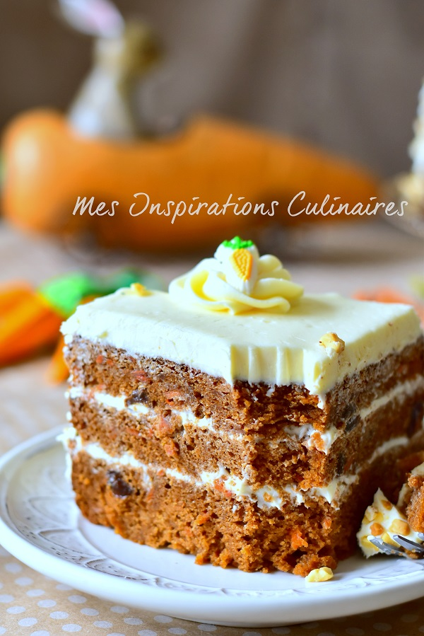 recette carrot cake g teau aux carottes le blog cuisine de samar. Black Bedroom Furniture Sets. Home Design Ideas