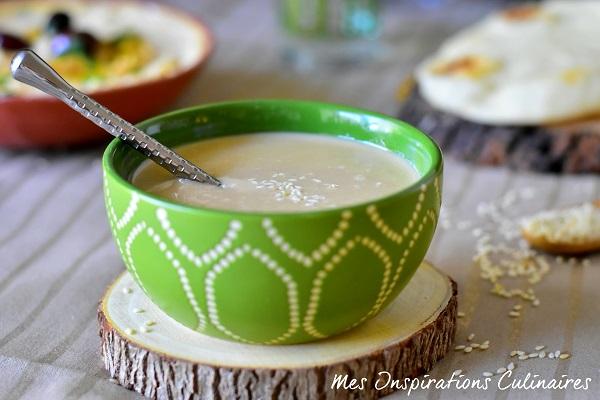 Tahina ou Tahini (crème de sésame)