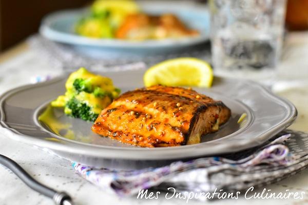 Recette saumon au four (marinade sirop d'érable)
