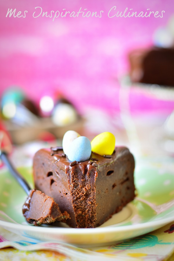 Gâteau au chocolat mascarpone de Cyril Lignac