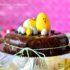 gateau nid de paques chocolat 1