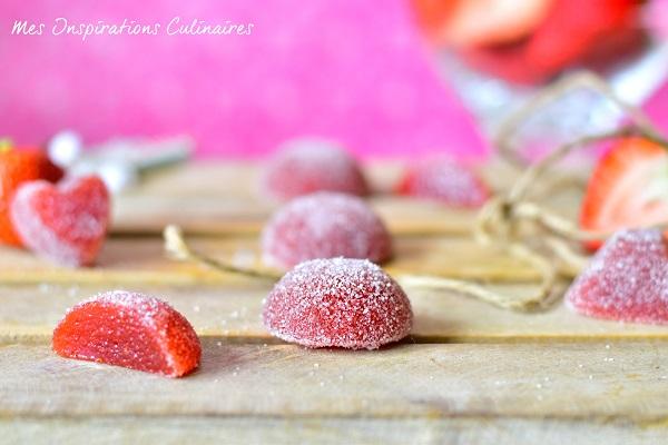Pâte de fruits à la fraise