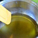 melanger et cuire le sirop