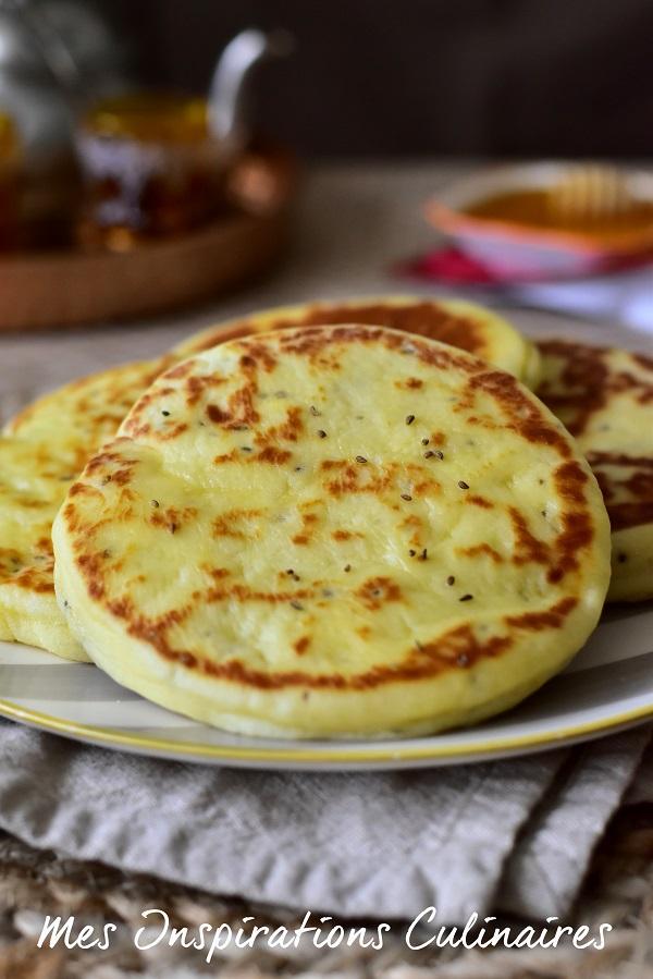 Pain à l'anis, galette marocaine à la poêle