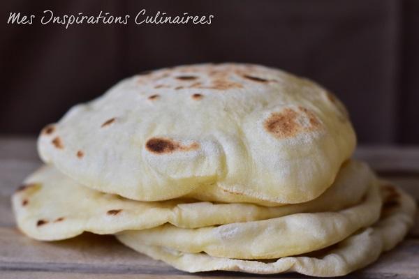 Pain Pita A La Poele Pain Libanais Le Blog Cuisine De Samar