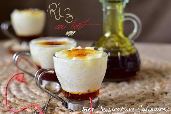 Riz au lait au caramel façon crème brûlée