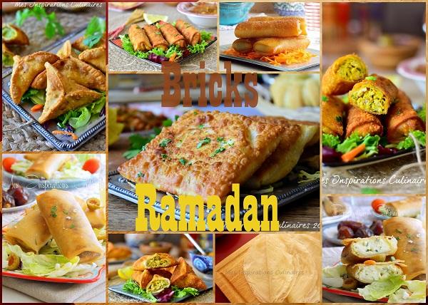 Recette de bricks et boureks pour ramadan 2018 le blog - Recette de cuisine tunisienne pour le ramadan ...
