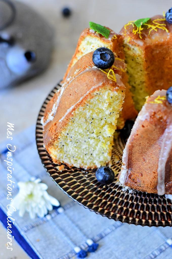 Cake citron et pavot moelleux recette facile