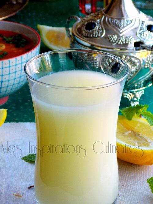 cherbet citronnade algerienne pour le ramadan 1