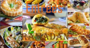 entree chaudes et froides ramadan 2017