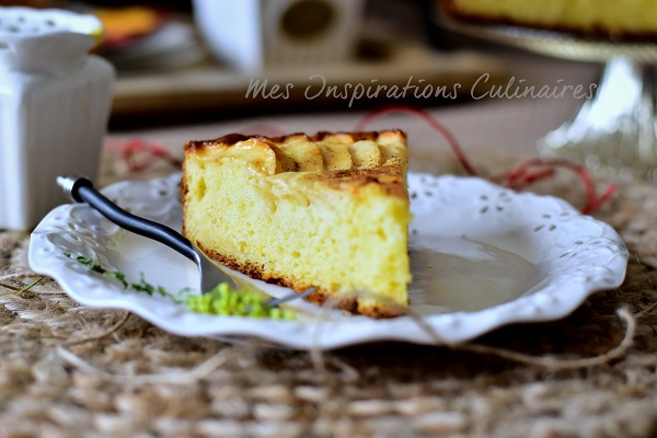 gâteau aux pommes et mascarpone | le blog cuisine de samar