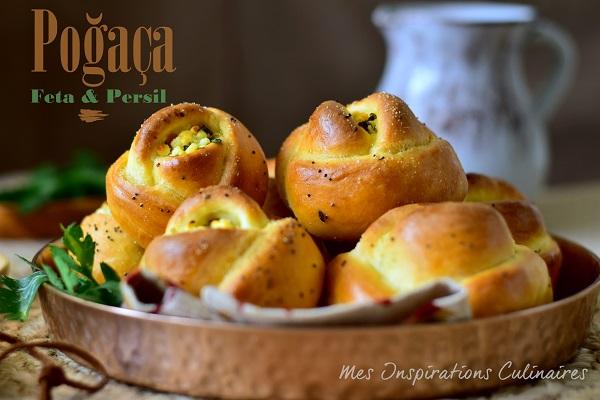 petits pains turcs feta persil Poğaça