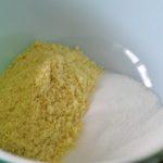 poudre d'amande sucre