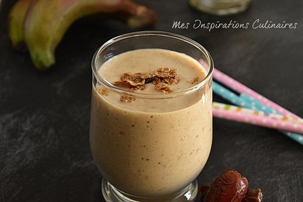 recette smoothie banane et dattes 1