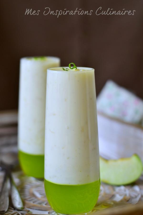 Recette Riz au lait et gelée de pomme verte