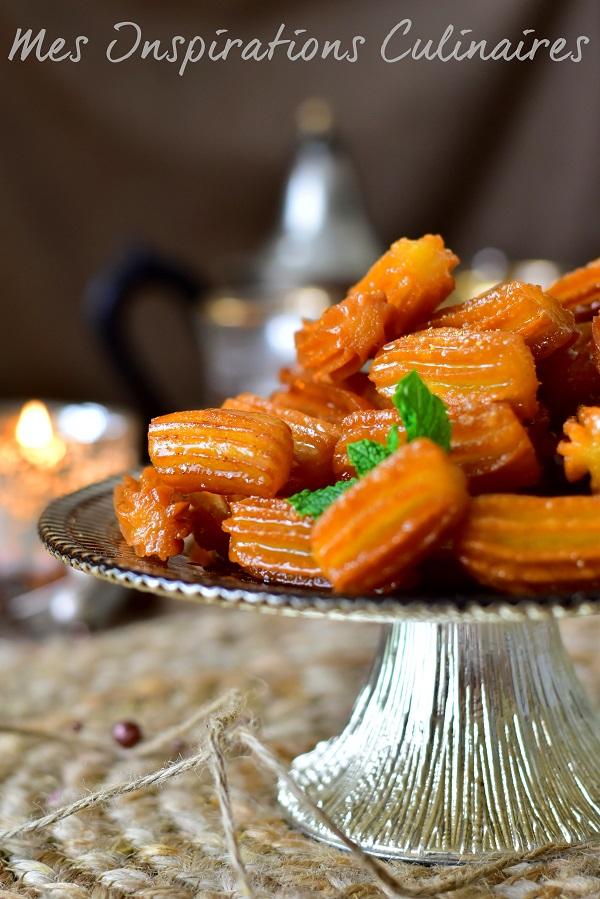 Tulumba, gâteau turc au miel