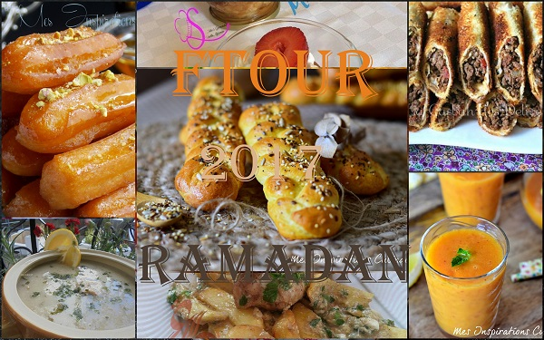 Menu ftour pour ramadan 2017