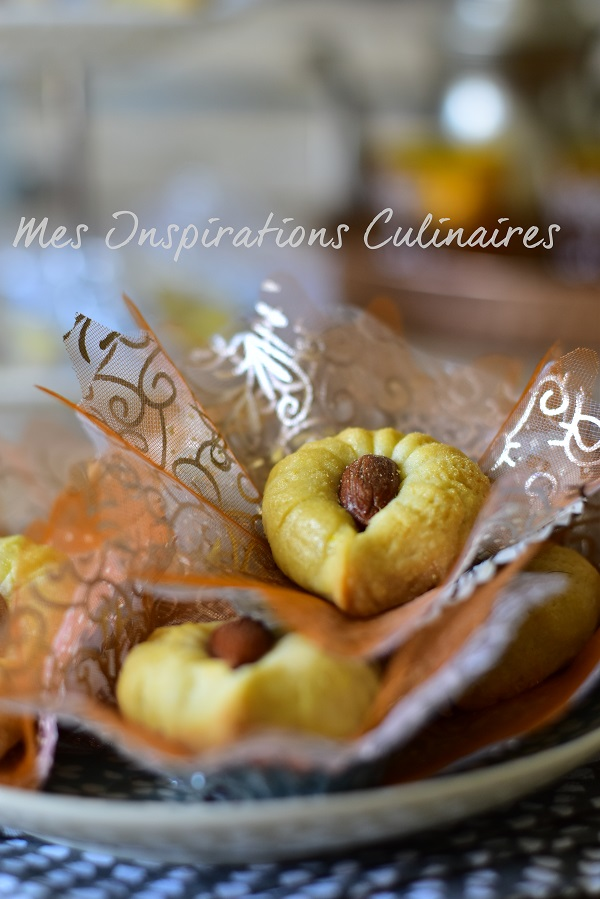 Gâteau algerien Oeil du Chameau (Ain el jmel)