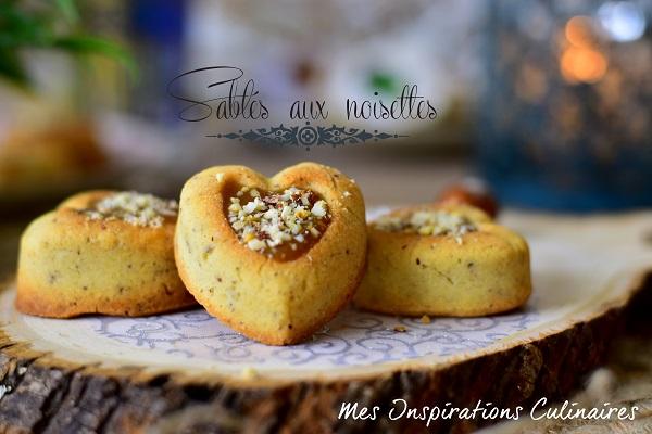 Biscuits sablés aux noisettes