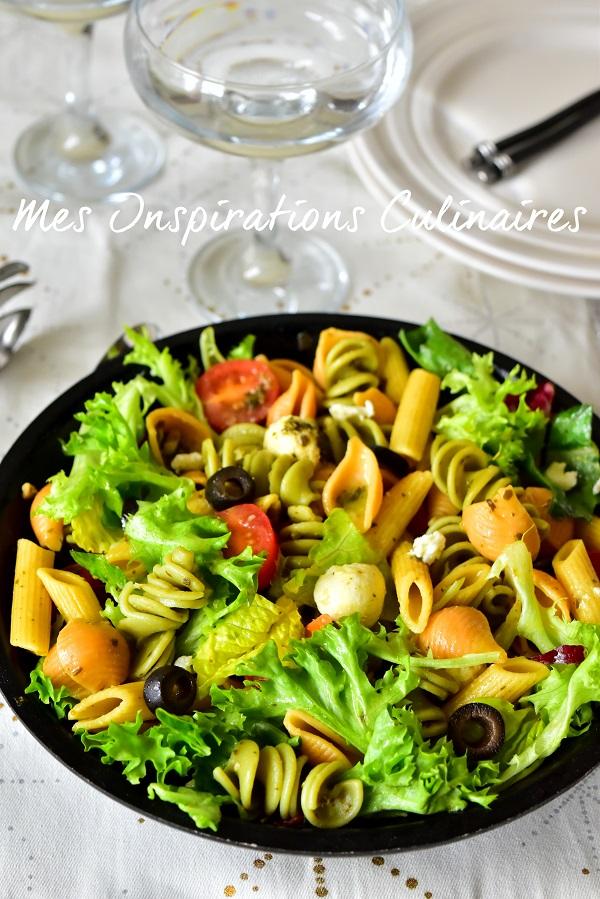salade de p 226 tes 224 l italienne le cuisine de samar