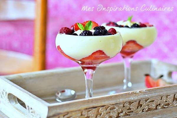 Recette Tiramisu aux fraises facile