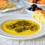 dip a l'huile d'olive et pesto 1
