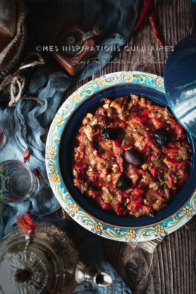 Recette de salade tunisienne shlada tounsia