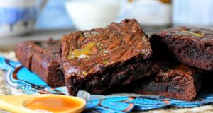 brownie au caramel beurre sale1