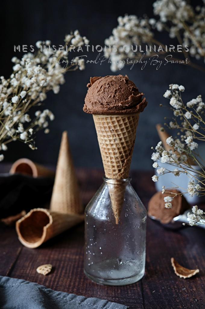 recette glace avec 3 ingredients