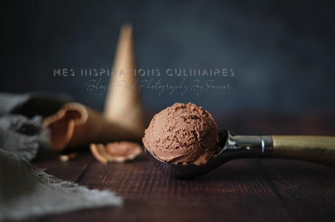 Recette glace sans sorbetiere au chocolat