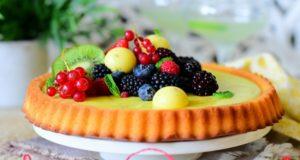 la tarte genoise au yaourt 1