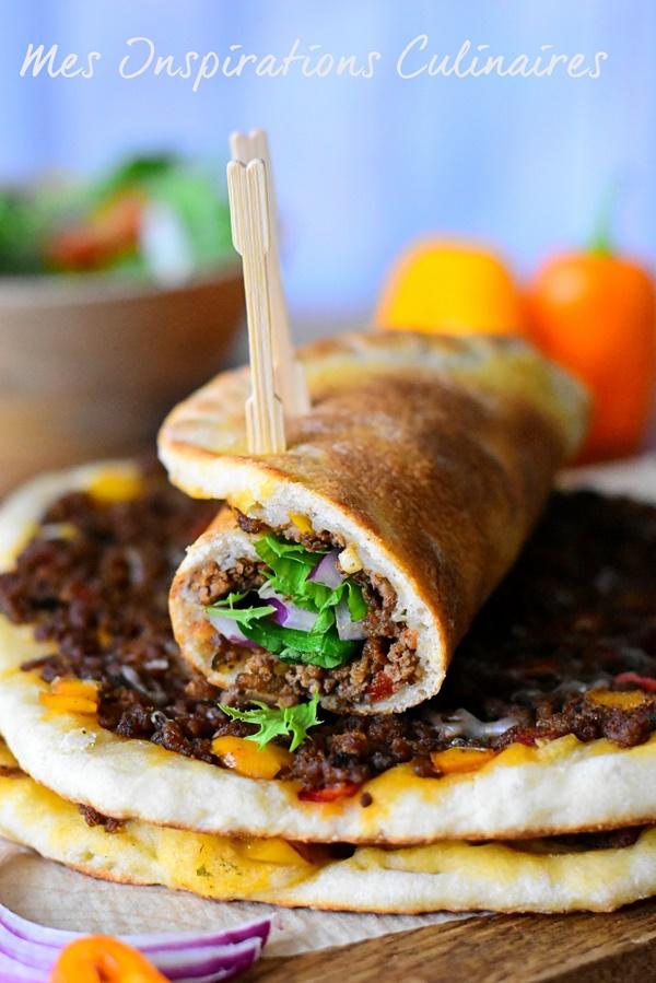 Lahmacun, pizza turque