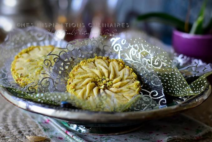 Recette Sablés à la pistache fondant