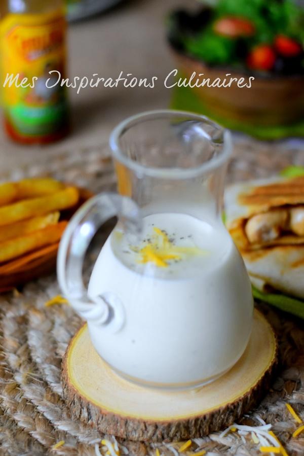 Sauce fromagère pour tacos