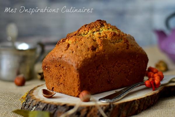 Cake aux noisettes moelleux