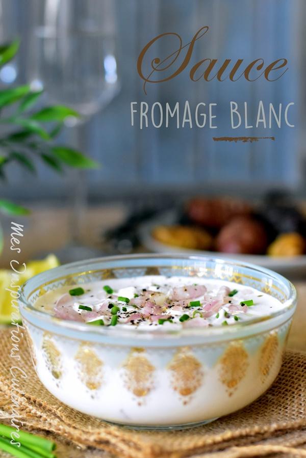 Sauce au fromage blanc aux herbes pour crudités