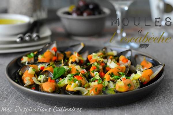 Moules à l'escabèche : cuisine méditerranéenne